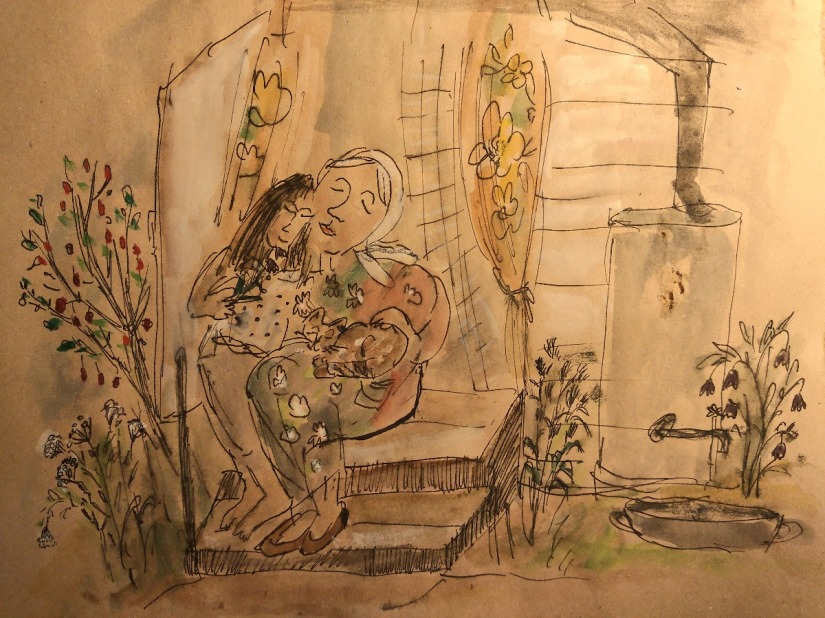 'Two Ninas' by NinaDon